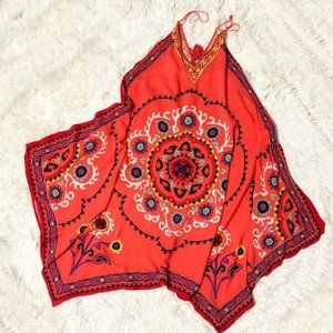 FLYING TOMATO Hobo Handkerchief Scarf Dress Sz M